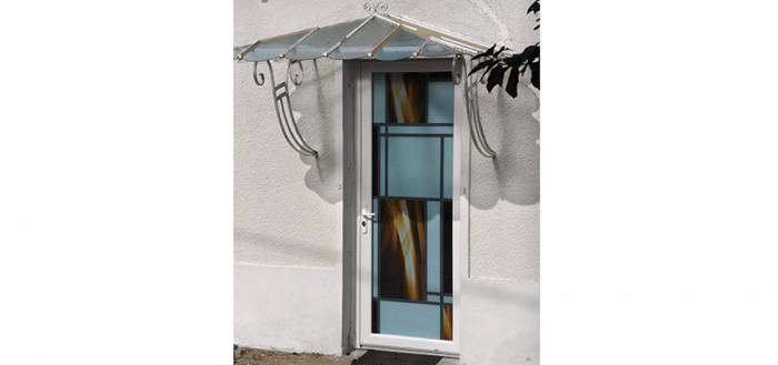 Pose porte PVC « Lumineuse »