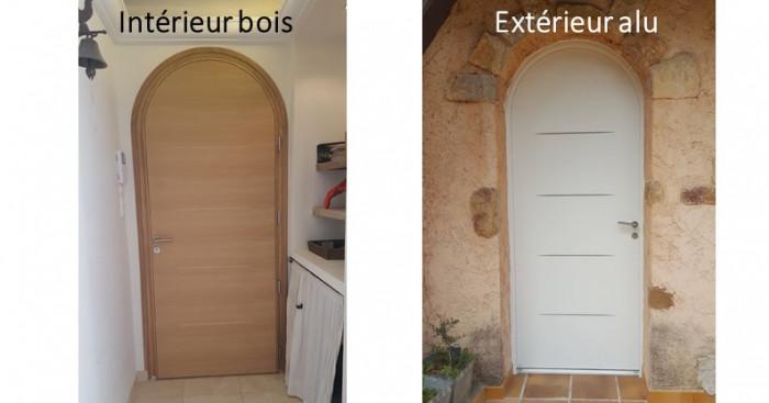 Remplacement d'une porte d'entrée par AZUR WINDOW Lorenove à Trets