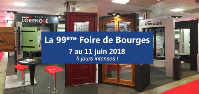 L'équipe Sevestre Menuiseries vous attend sur la Foire de Bourges