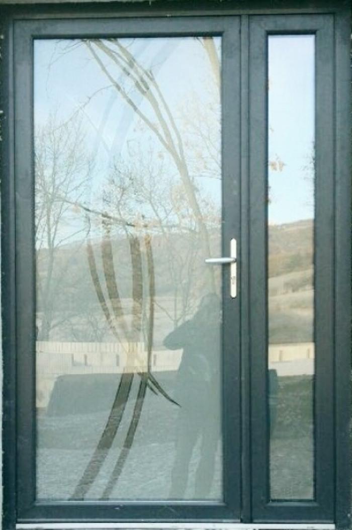 Porte d'entrée lumineuse aluminium à Gap
