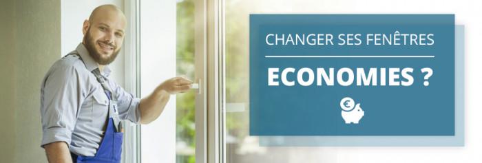 Changer ses fenêtres : pour quelles économies?