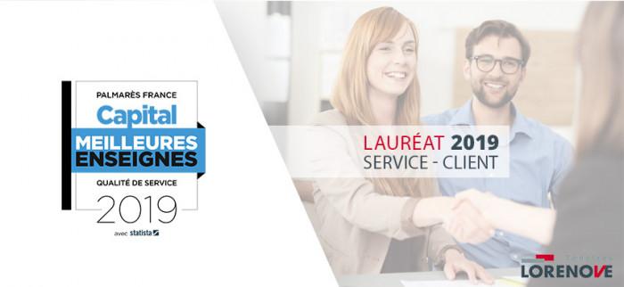 Lorenove s'illustre parmi les meilleurs services clients !