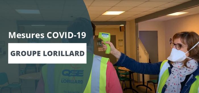 Covid-19 : Les mesures barrières prises par le Groupe Lorillard