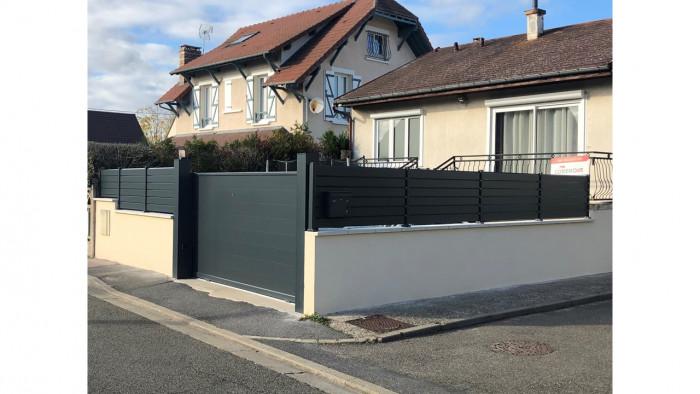 Nouvelle rénovation de portail et fenêtre à Mantes la Jolie