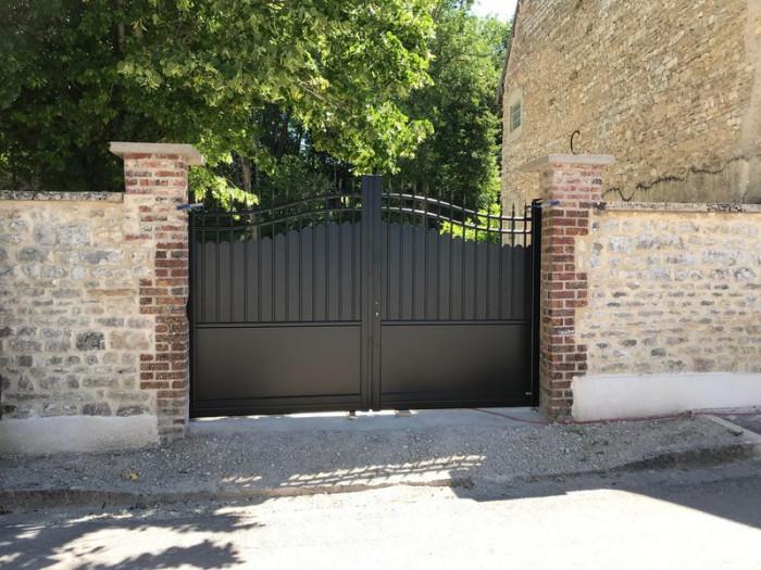 Pose de portail et portillon Aluminium à Troyes