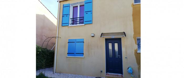 Pose d'une Porte d'Entrée à Martigues (13)