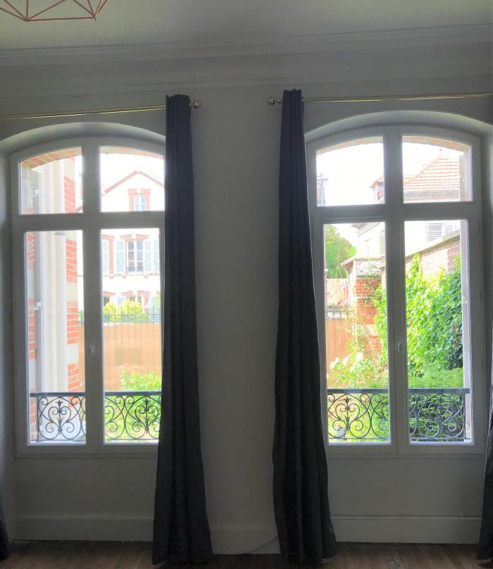 Fenêtres bois dépose totale laquée blanche