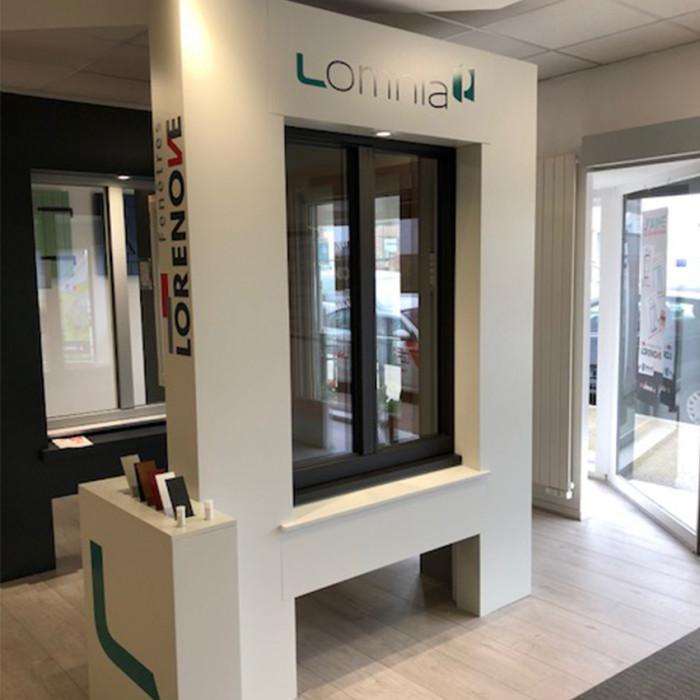 Nouveau dans votre showroom : la fenêtre HPC Lomnia