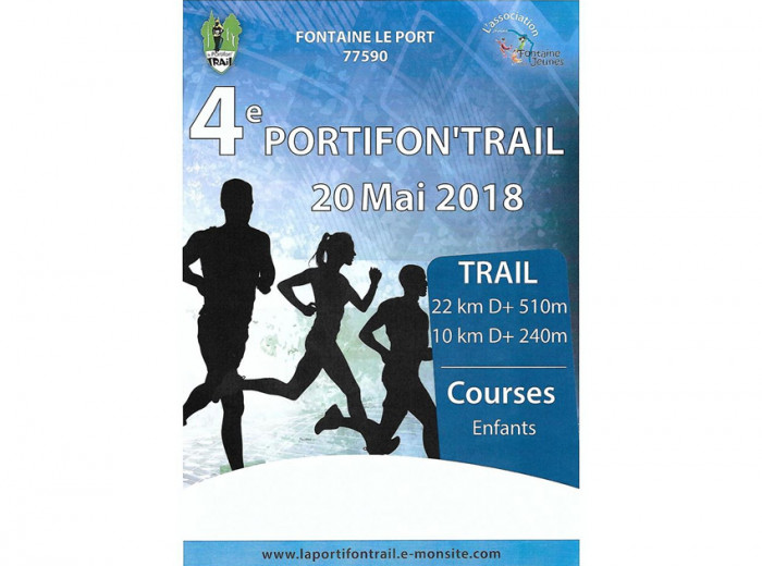 Lorenove Melun / Moissy Cramayel sponsor de la Portifon'Trail 2018