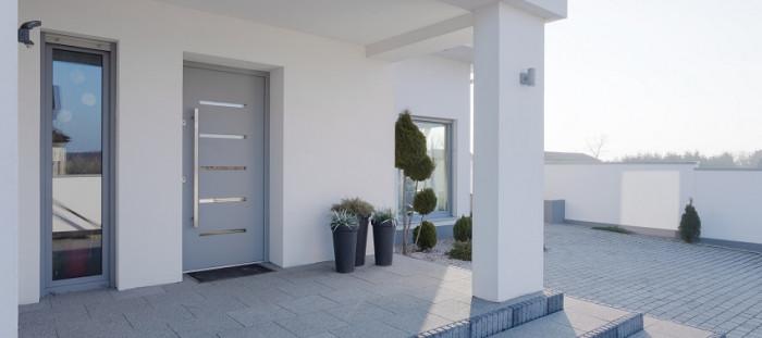 Porte entrée décoration maison