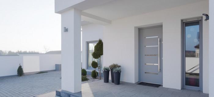 Pose de porte d'entrée à Poissy (78)