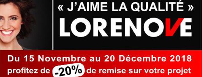 Promo chez Lorenove Caudebec-les-Elbeuf !