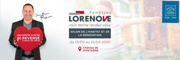 Lorenove vous donne rendez-vous au Salon de l'Habitat de Pontarmé (60)