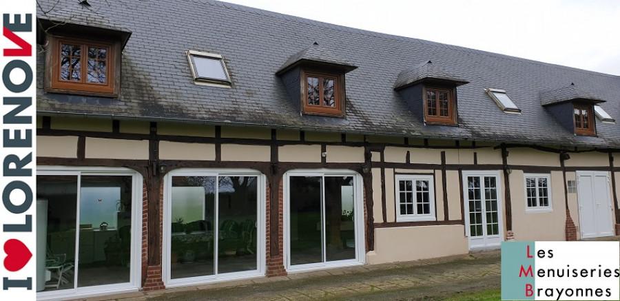 Pose de fenêtres PVC et Coulissants à Gournay en Bray (76)