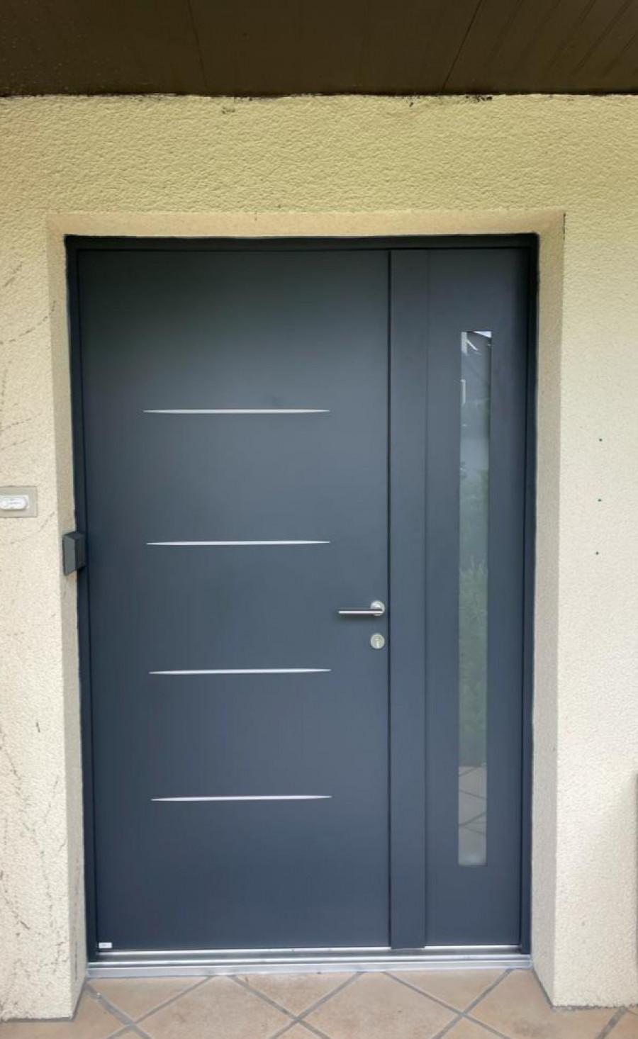 Porte d'entrée à Saint Germaine en Laye (78)