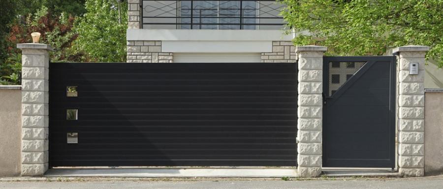 Aménagement d'entrées et garages : portails coulissants à Melun