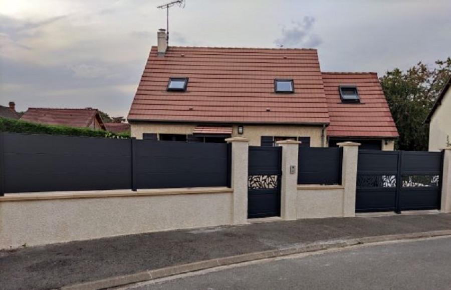 Pose de portail et clôture à Dreux (28)