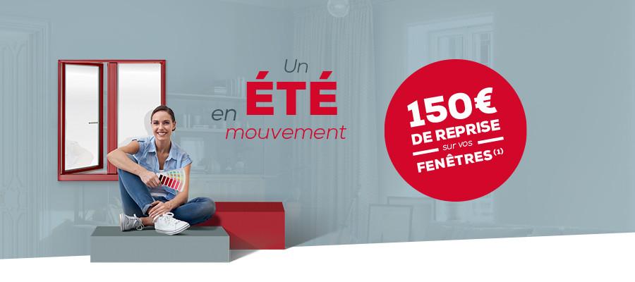Promo 150 € de remise par fenêtre