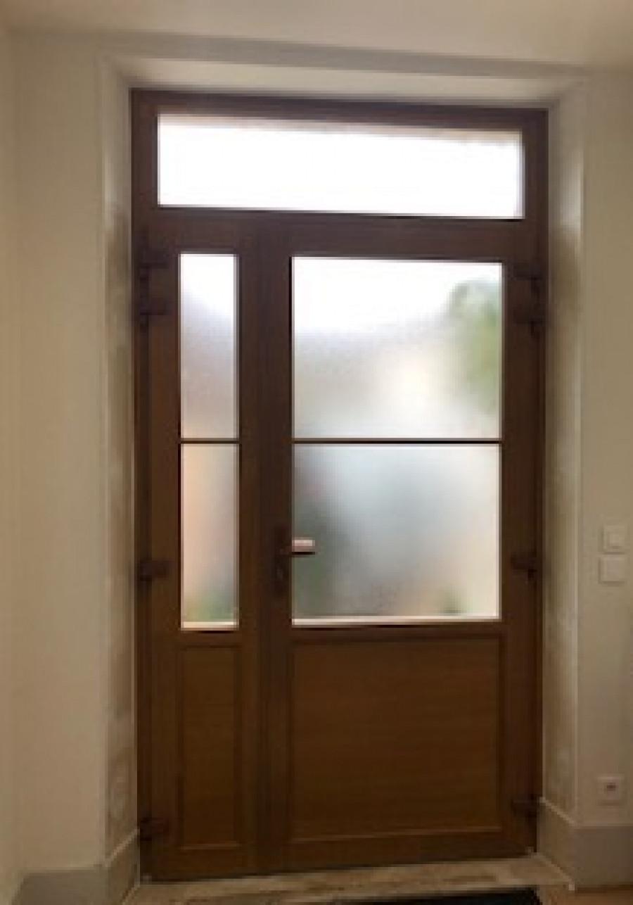 porte vitrée coignières