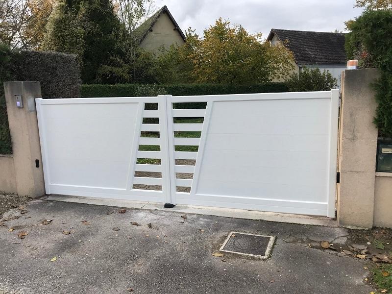 Installation d'un portail à Troyes