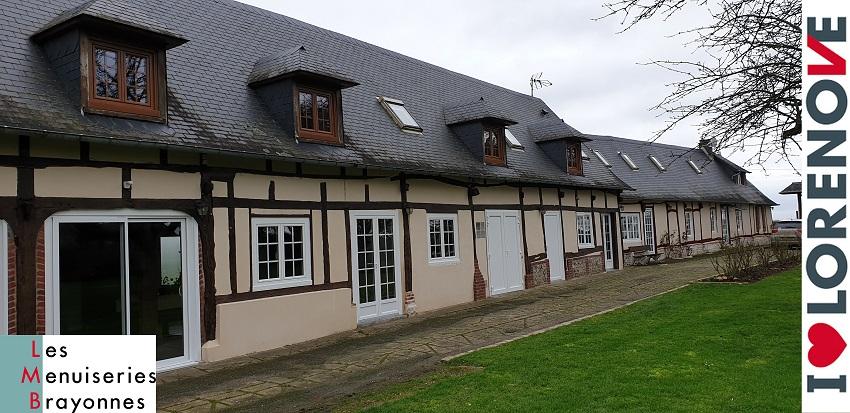 Pose de fenêtres PVC et Coulissants à Gournay...