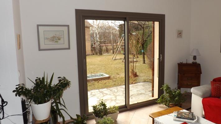 Chantier coulissants fenêtres portes fenêtres...