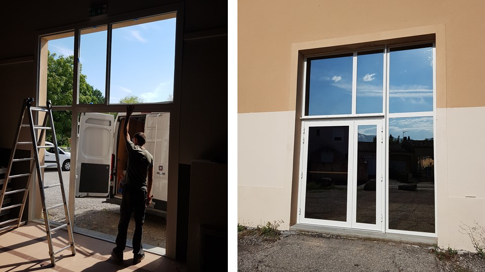 Pose de fenêtre aluminium par AZUR WINDOW Lor...