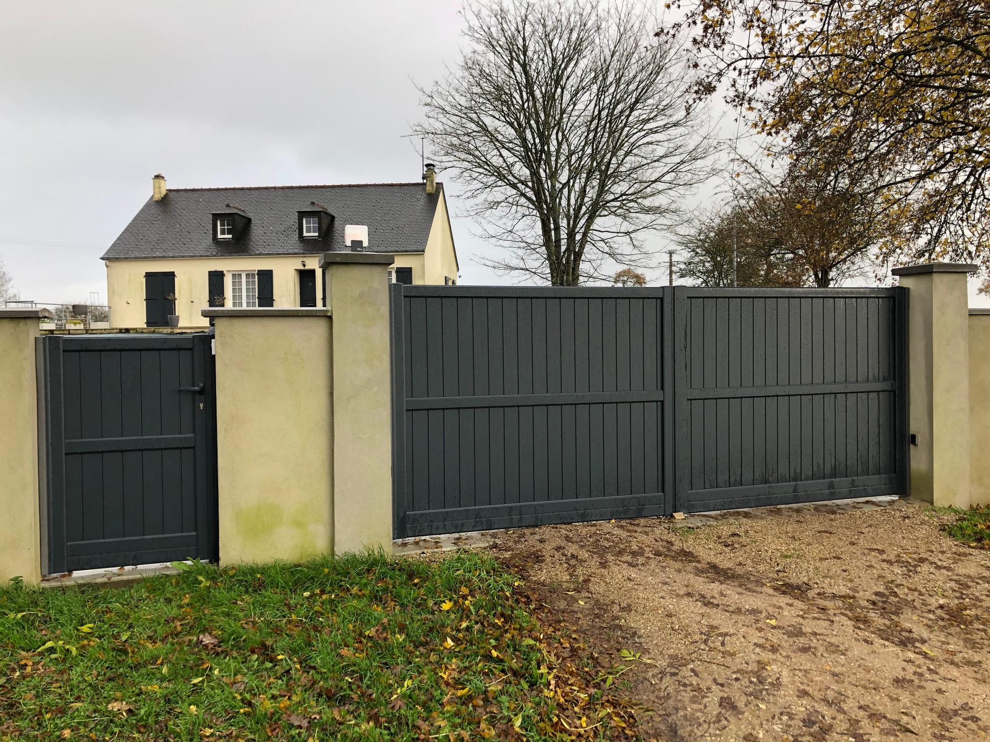 Pose de portails et portillons à Cherbourg (5...