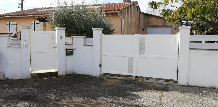 Pose de portail et portillon à Martigues (13)