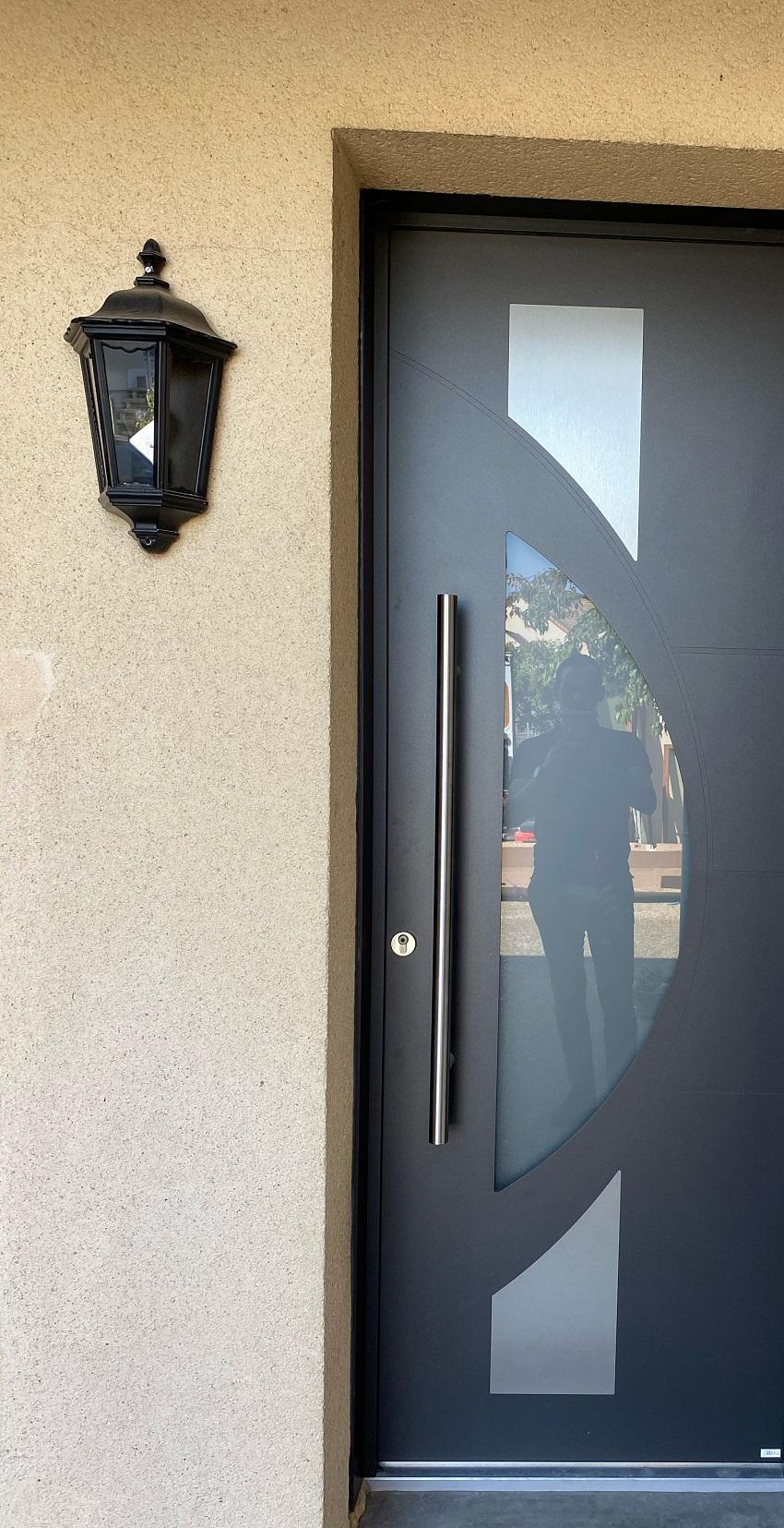 porte d'entrée aluminium antony