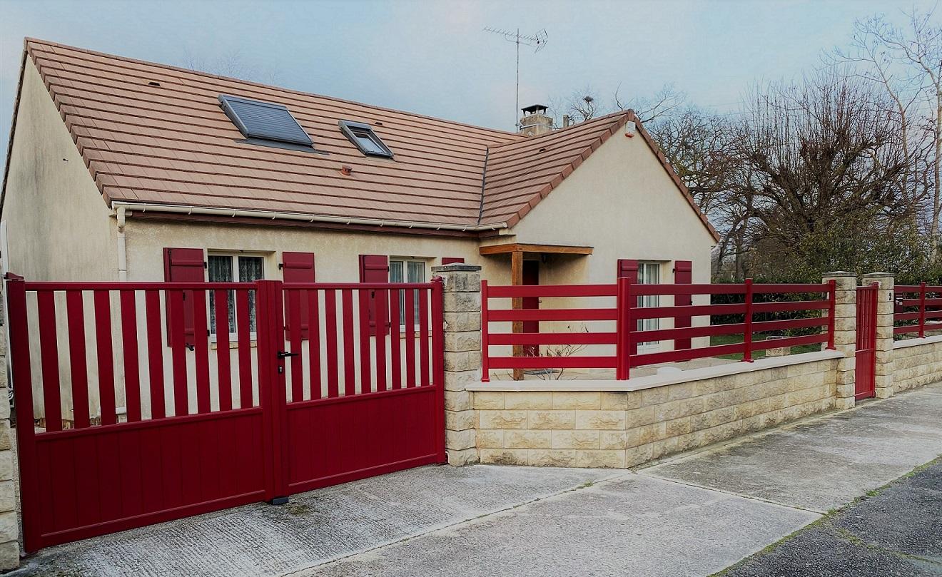 Pose de portail, portillon et clôture à Garge...