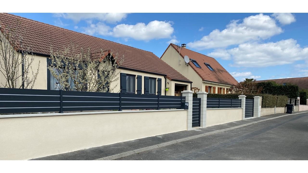 Portail, portillon et clôture à Gargenville (...