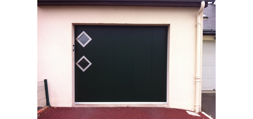 Lorenove Angers : pose d'une porte de garage