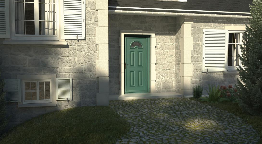 """Portes d'entrée Alu """"ESSENTIELLES"""""""