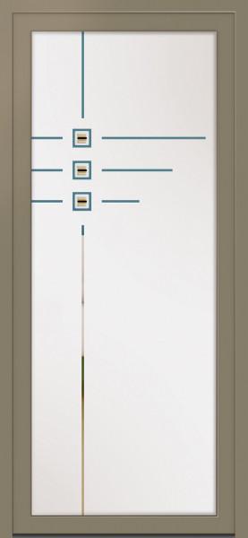 "Portes d'entrée Alu ""LUMINEUSES"""
