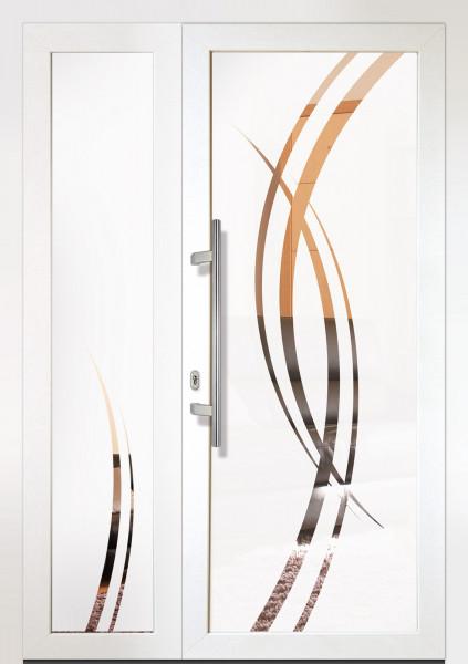 """Portes d'entrée PVC """"LUMINEUSES"""""""